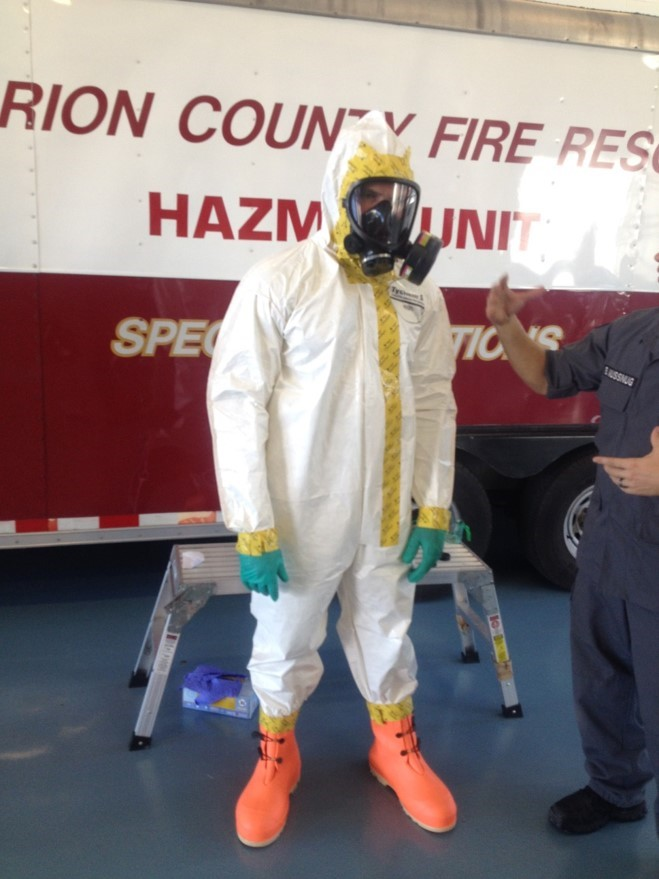 Oct. 24, 2014 -- MCFR leads a second multiagency Ebola Virus Preparedness Meeting