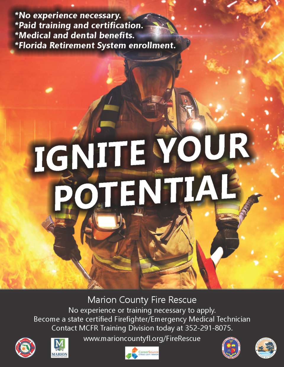 Recruitment flyer Ignite
