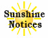April 6, 2020 - Sunshine notice