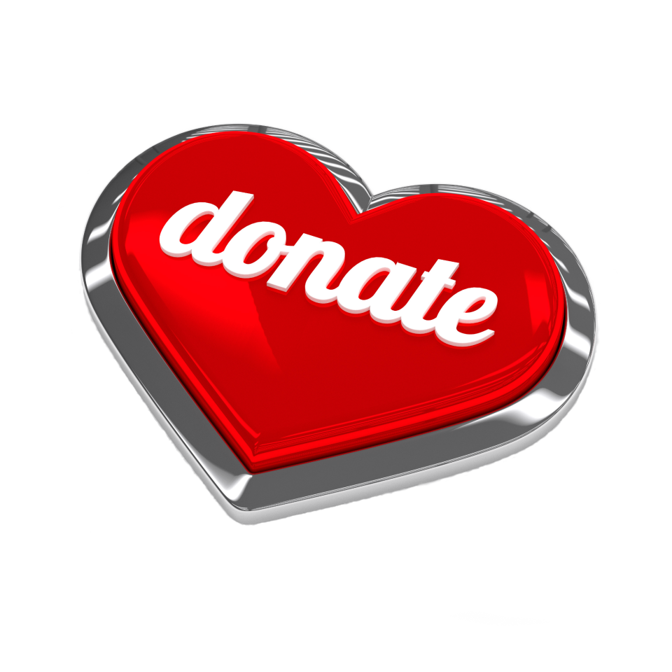 heart donation button