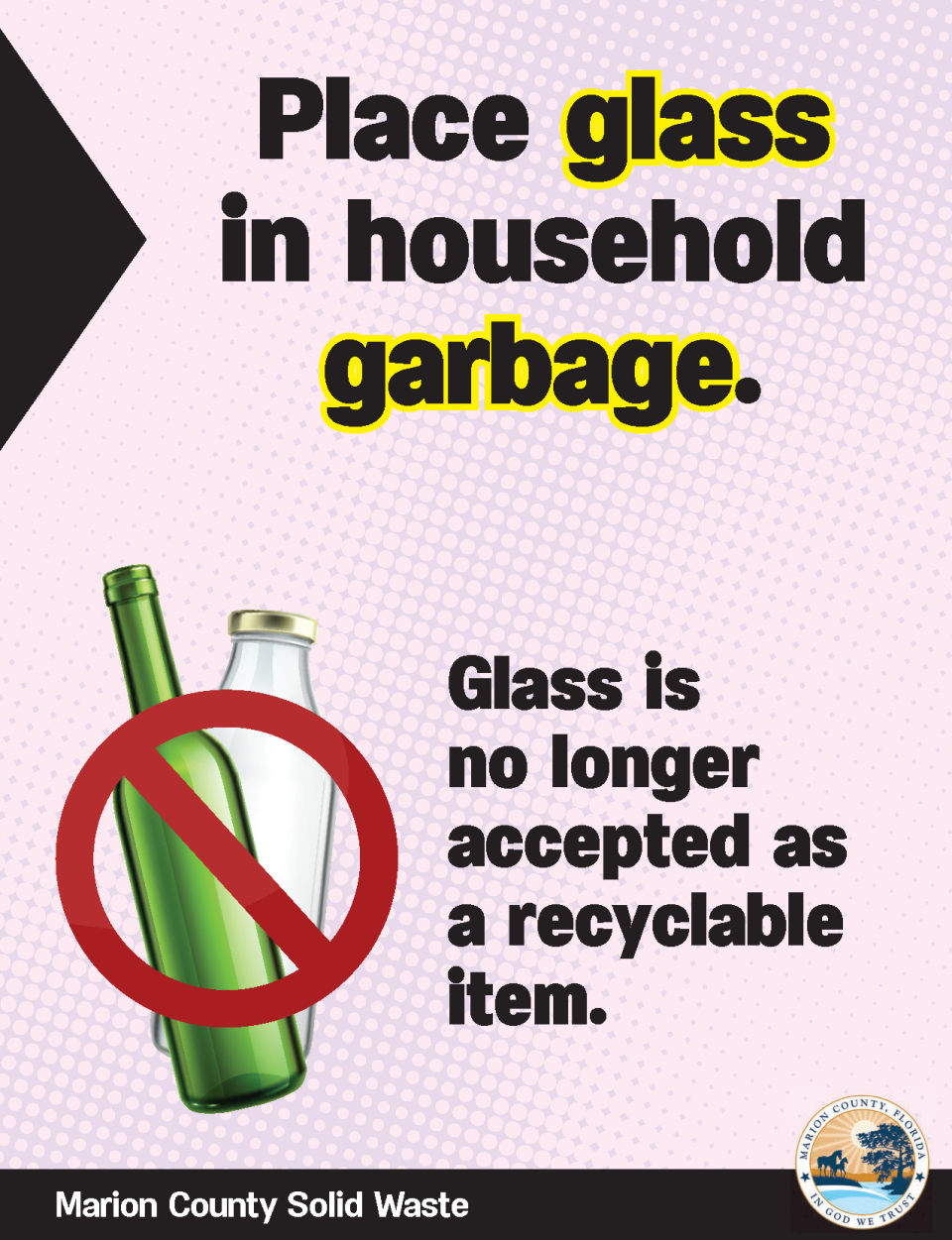 Materials accepted at recycling centers | Marion County, FL