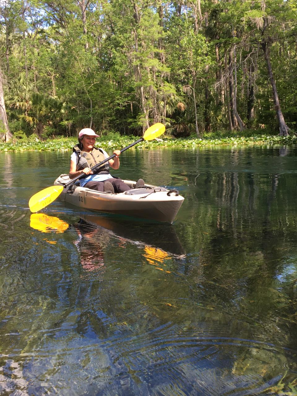 Kayaking Silver River