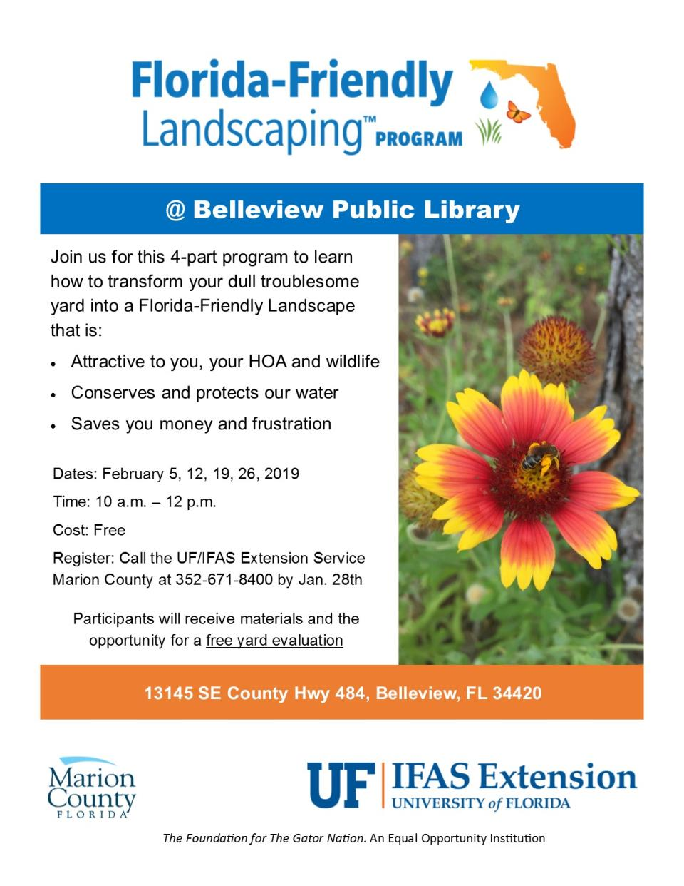 2019 FFL Flyer - Belleview Library