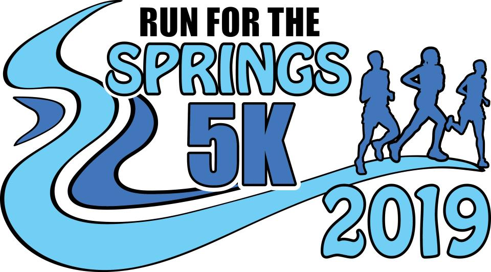 2019 Run for the Springs Logo