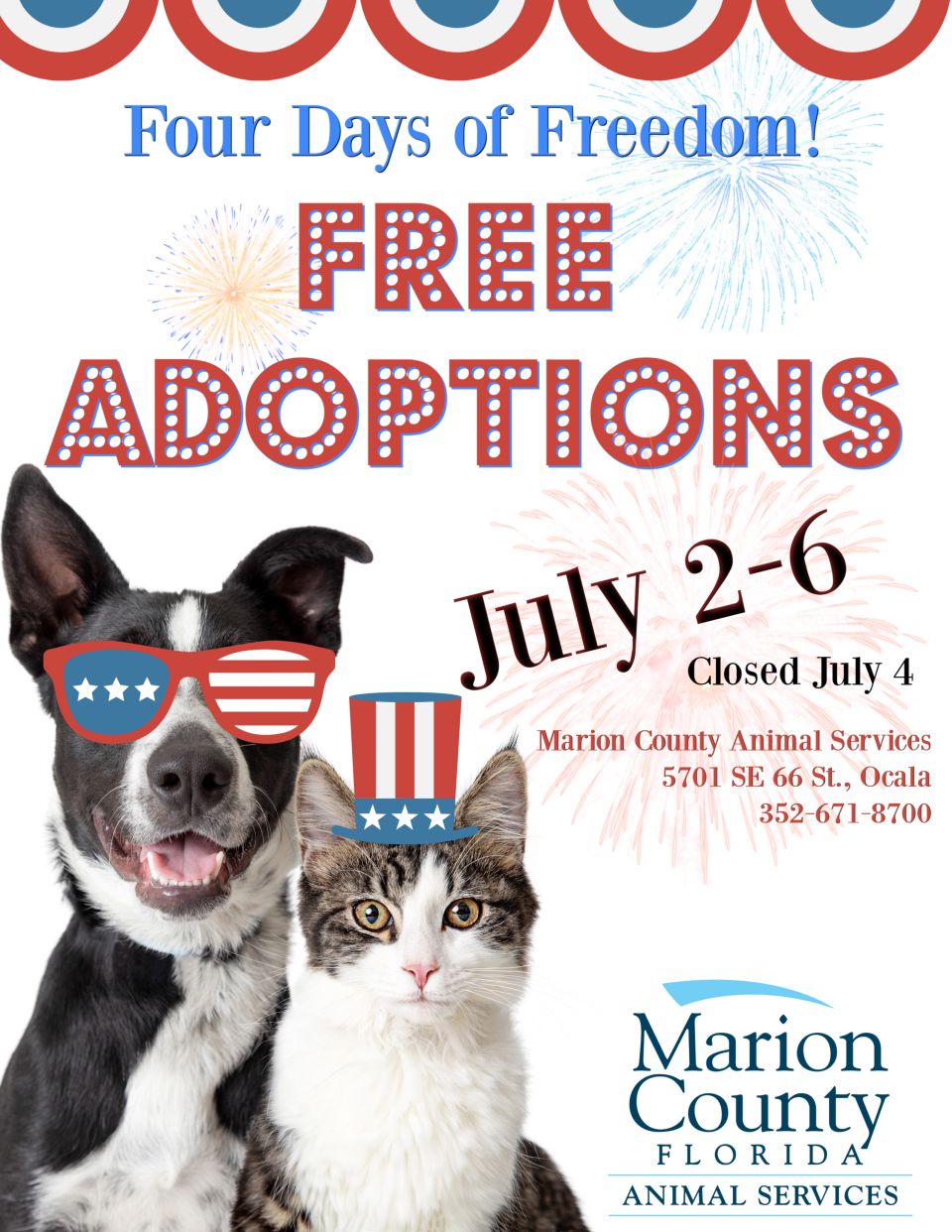 free adoption event July