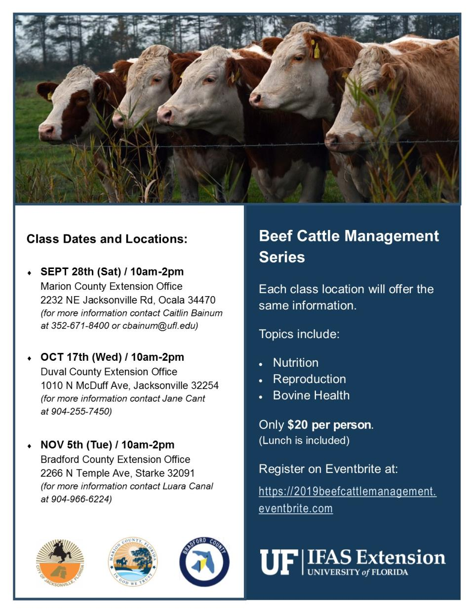 Beef Cattle Management Workshop