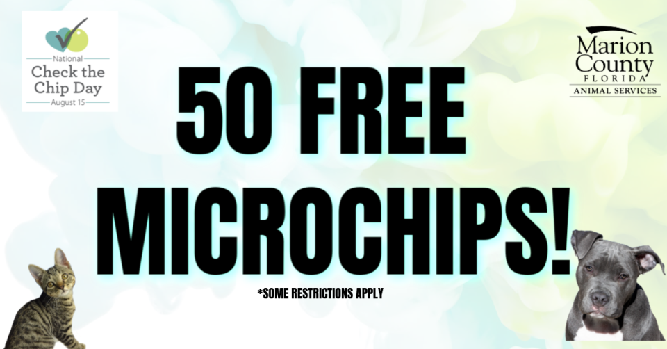Check the Chip Day free microchips