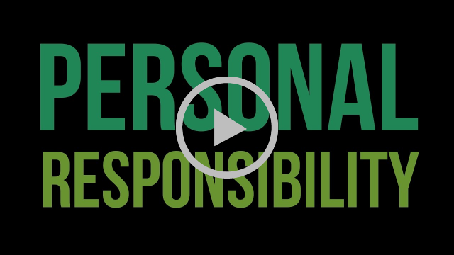 Personal responsibility Video still frame