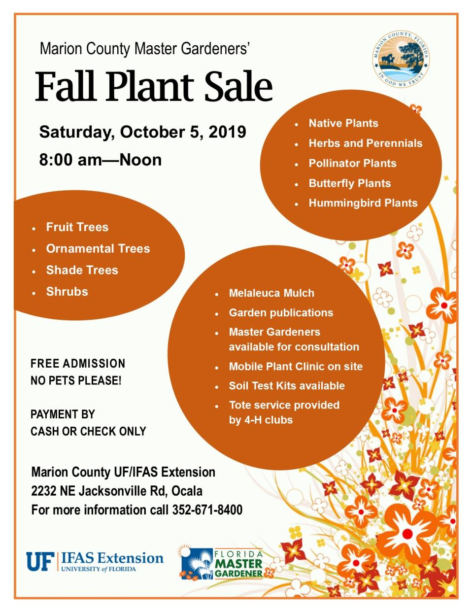 MG Fall Plant Sale