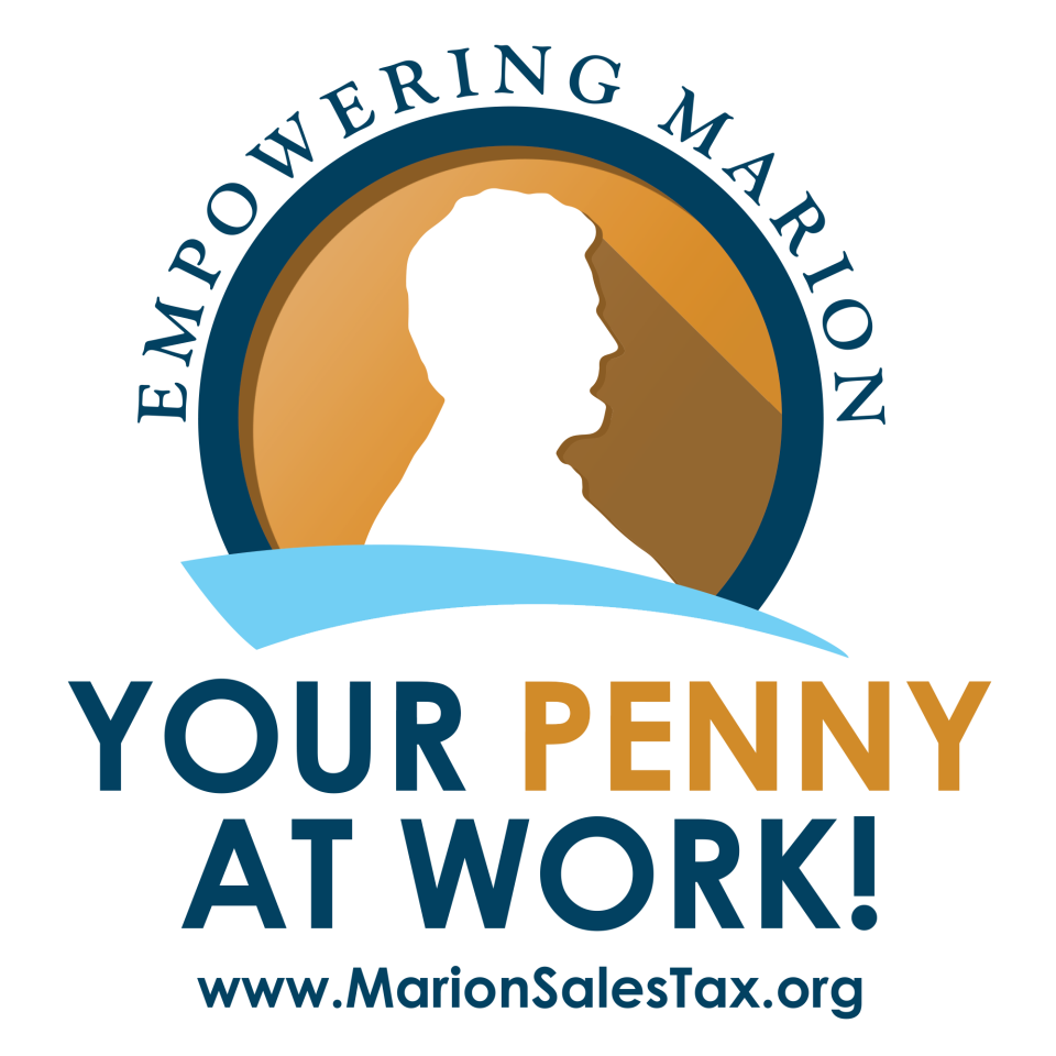 Penny sales tax sticker