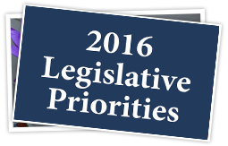 2016 Legislative priorities spotlight