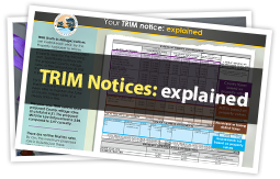 TRIM notices explained