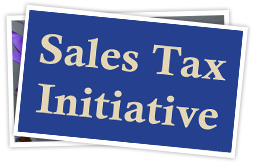 Sales tax initiative spotlight