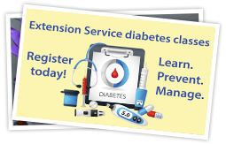Diabetes classes ExtSvc spotlight