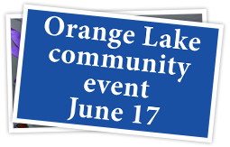Community event Orange Lk 061717