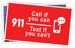 Text to 911 spotlight
